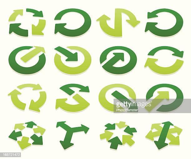 arrow signs volumetric II