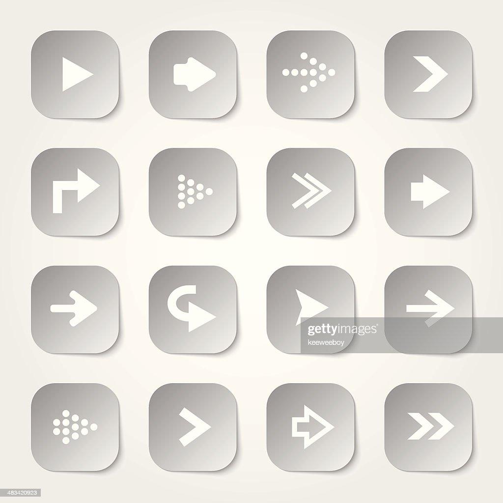Arrow Web Buttons