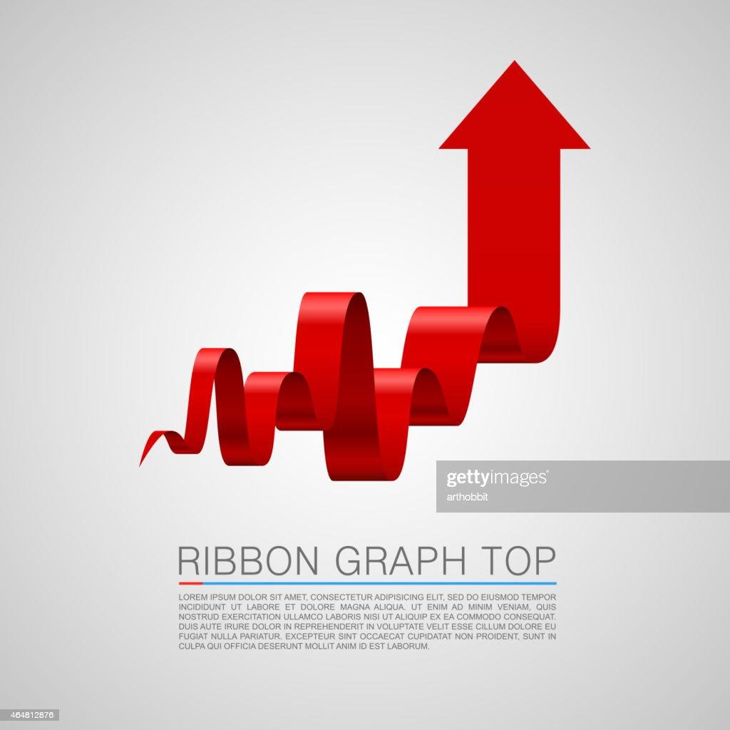 Arrows business tape art info