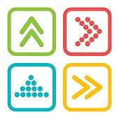 Arrows digital design