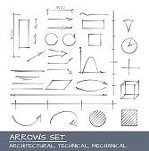 Arrows Hand Drawn Set