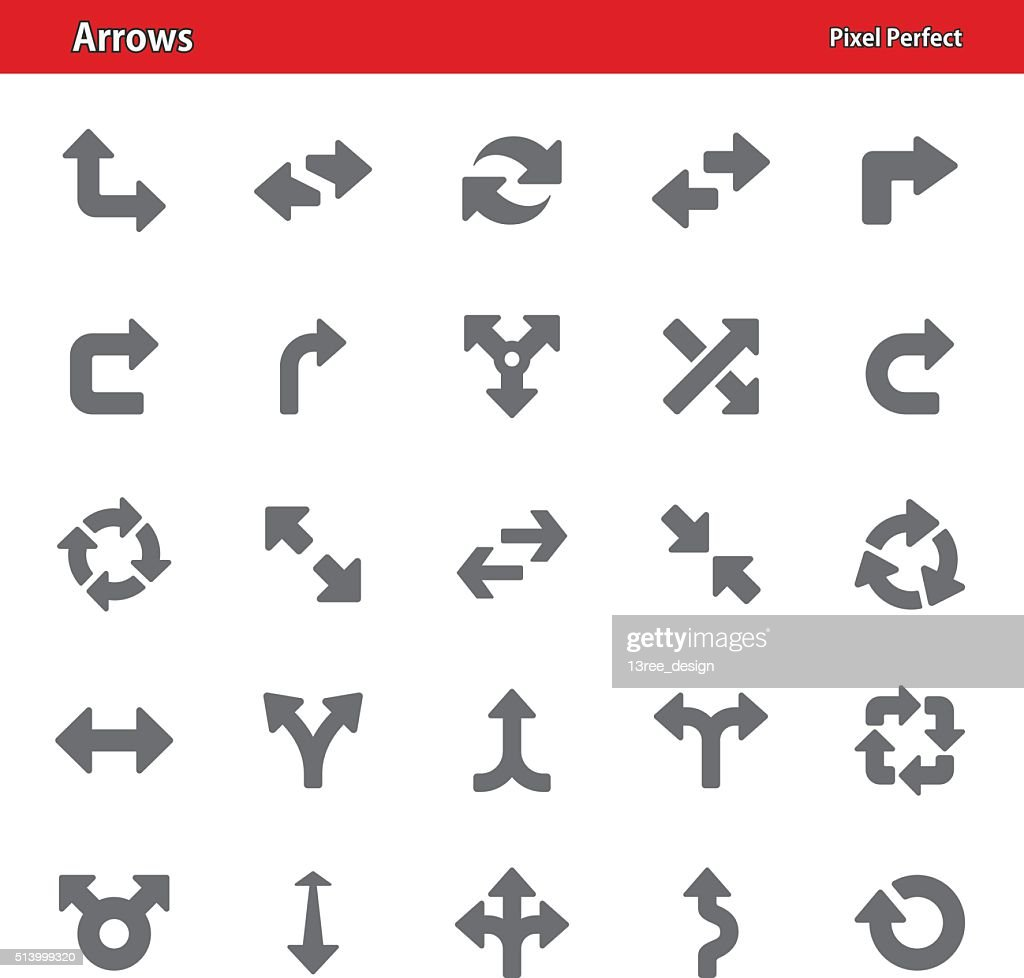 Arrows Icons - Set 3