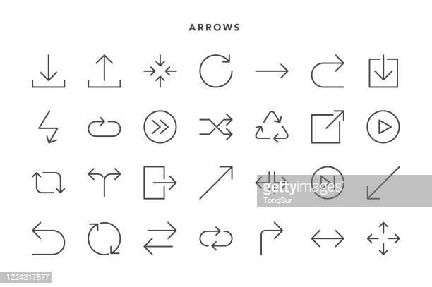 矢印アイコン - 左利き点のイラスト素材/クリップアート素材/マンガ素材/アイコン素材