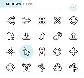 Arrows - Pixel Perfect icons