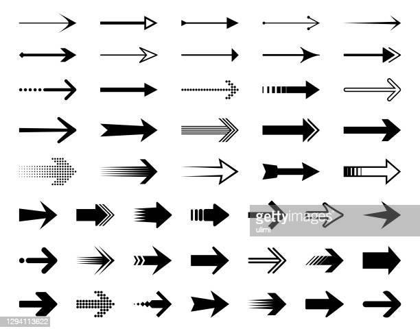 ilustrações, clipart, desenhos animados e ícones de setas - sinal de seta