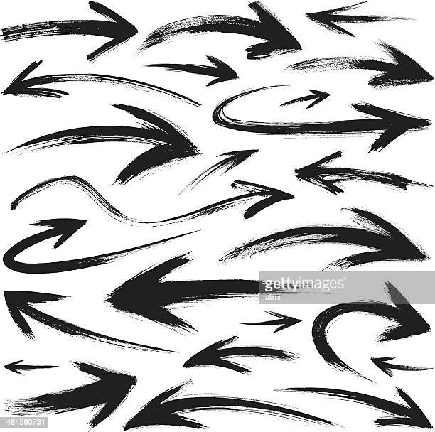 pfeile - hinunter bewegen stock-grafiken, -clipart, -cartoons und -symbole
