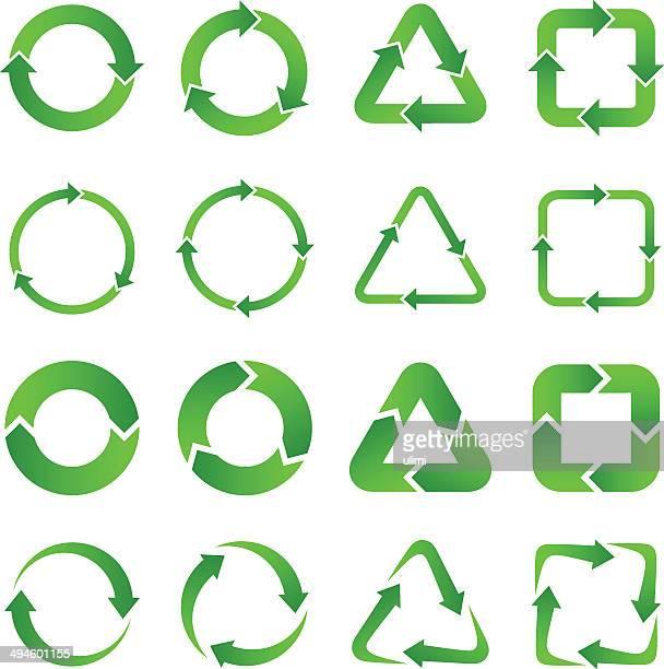 矢印 - 再生利用点のイラスト素材/クリップアート素材/マンガ素材/アイコン素材