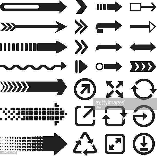 矢印 - 角点のイラスト素材/クリップアート素材/マンガ素材/アイコン素材