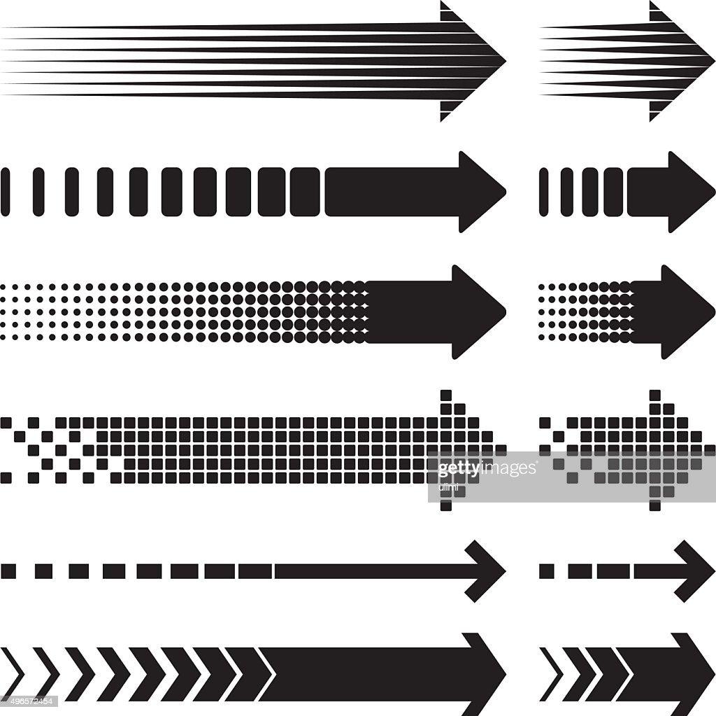 Flechas : Ilustración de stock