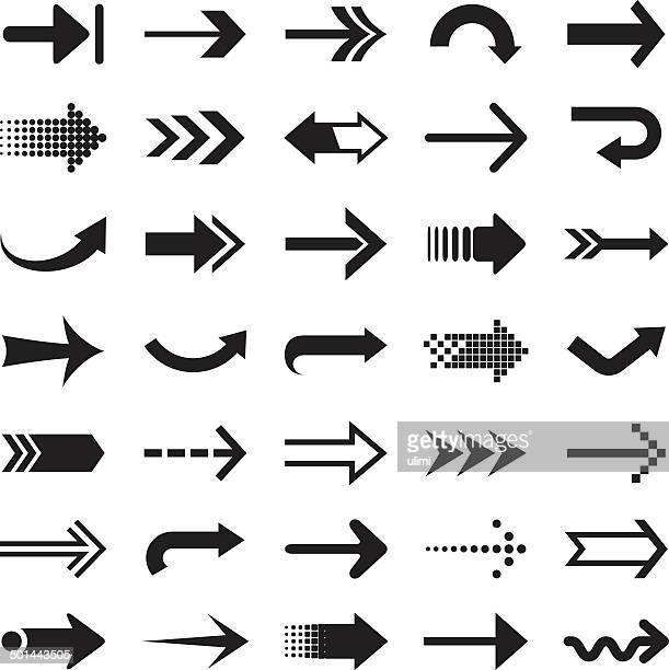 arrows - twisted stock illustrations, clip art, cartoons, & icons