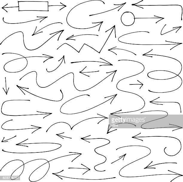 pfeile - dünn stock-grafiken, -clipart, -cartoons und -symbole