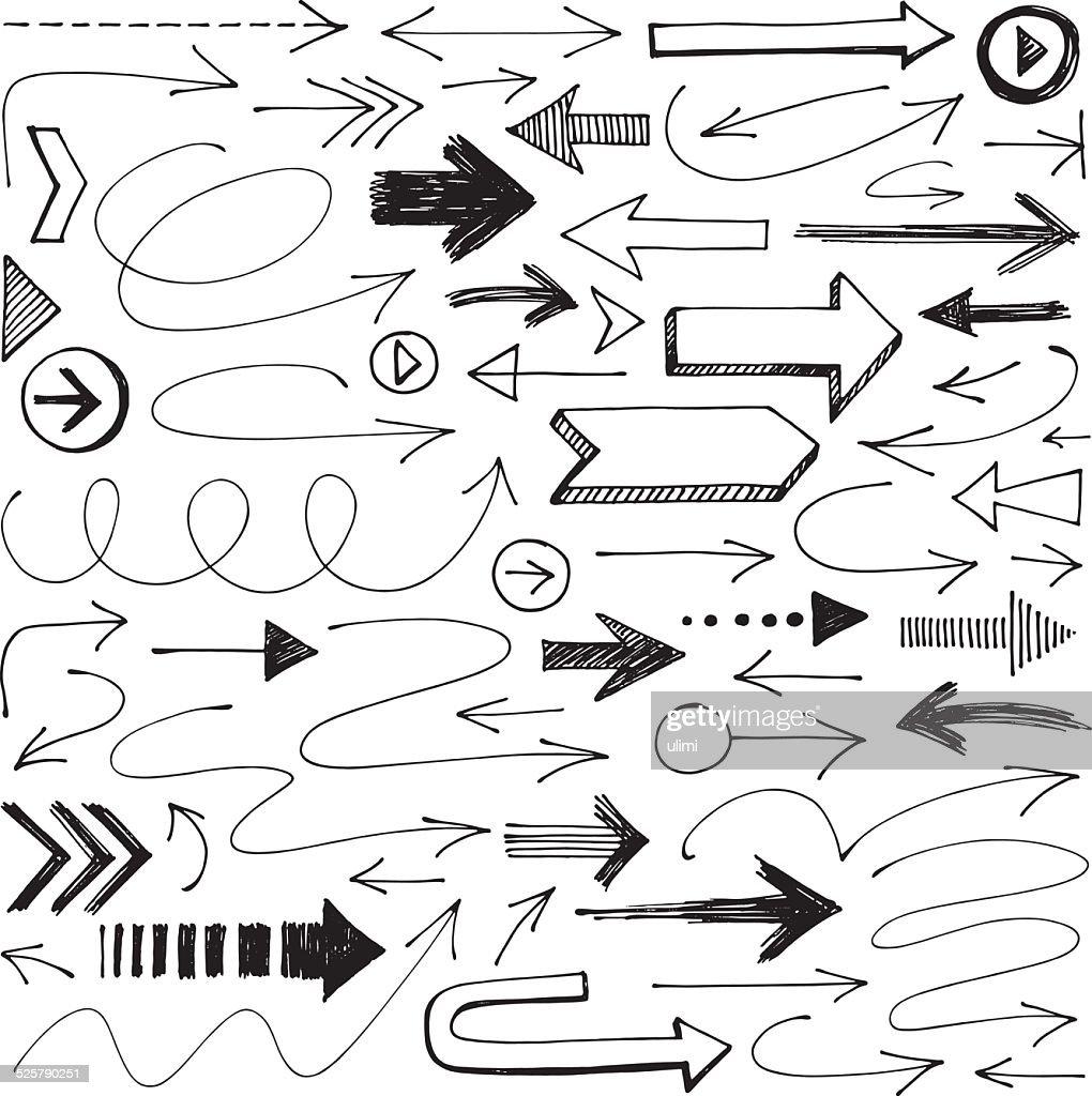 Arrows : Stock Illustration