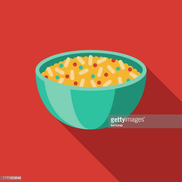 arroz rojo mexican food icon - rojo stock illustrations