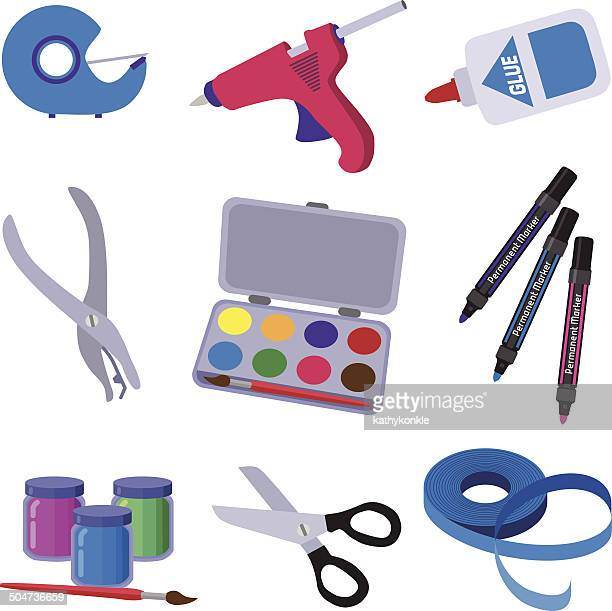 art and craft supplies