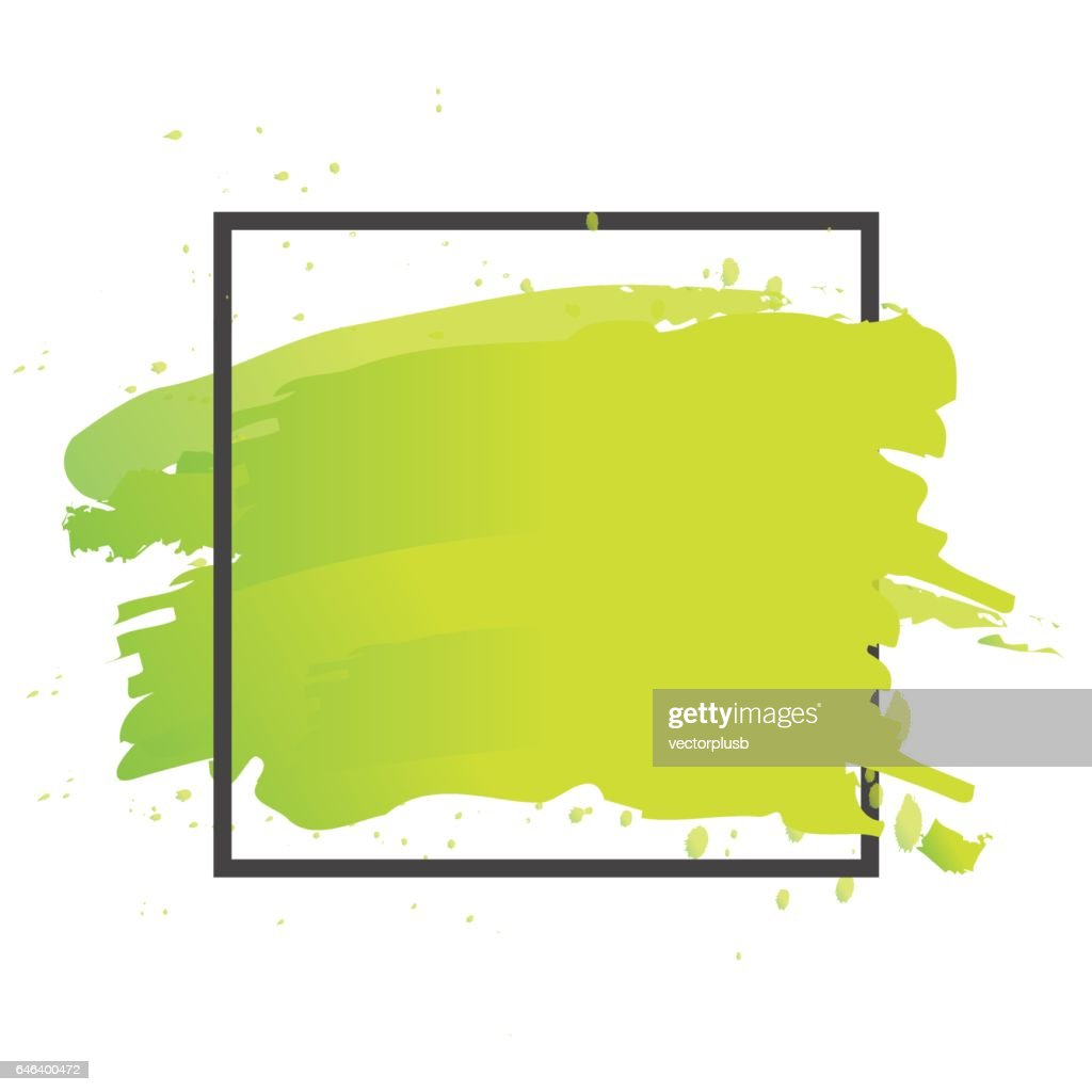 Art brush paint vector. Abstract texture background design acrylic stroke poster illustration.