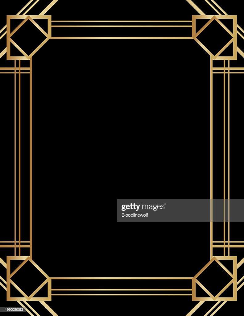 Art Deco Background Vector Art Getty Images