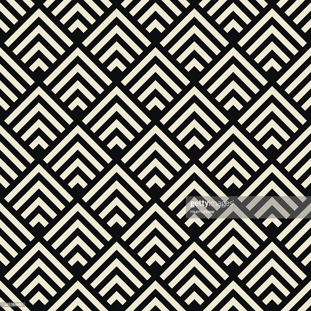 art deco black and white texture