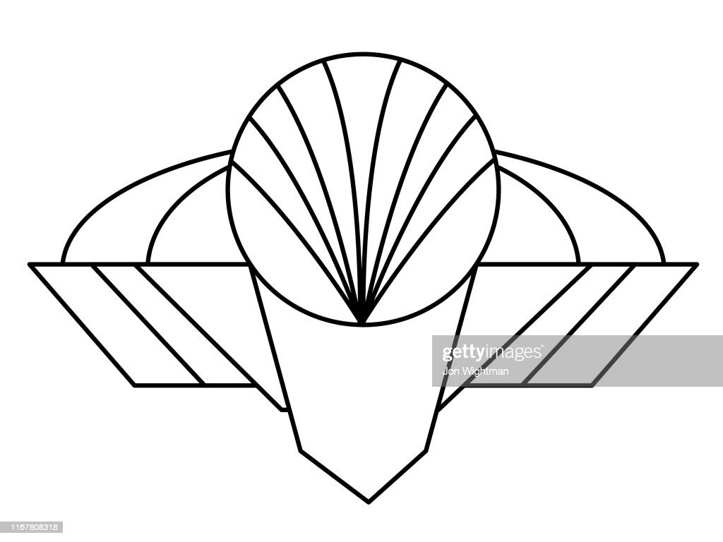 Art Deco Design Element High Res Vector Graphic Getty Images