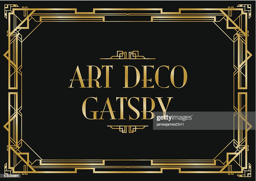 art deco gatsby background