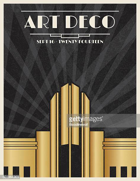 Art deco stock illustrations and cartoons getty images for Art deco building materials