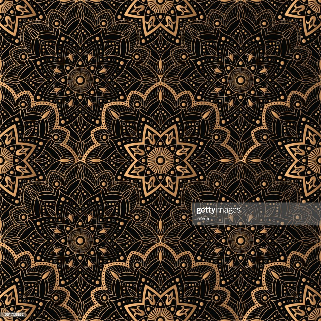 Art Deco pattern seamless vector