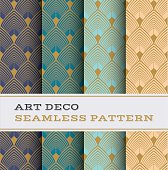 Art Deco seamless pattern 03