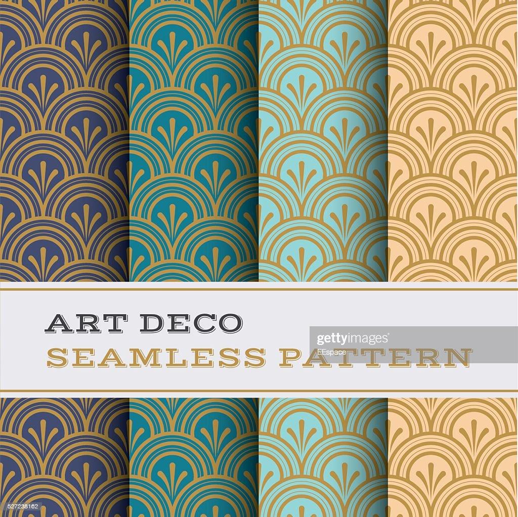 Art Deco seamless pattern 04