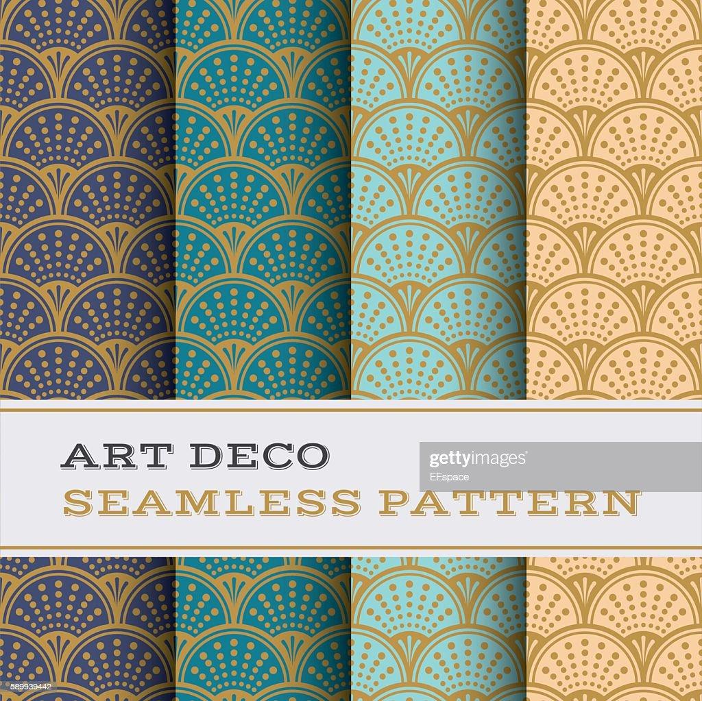Art Deco seamless pattern 09