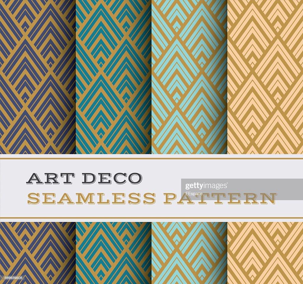 Art Deco seamless pattern 12