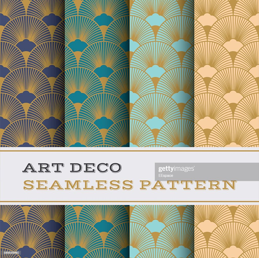 Art Deco seamless pattern 15