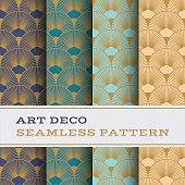 Art Deco seamless pattern 15