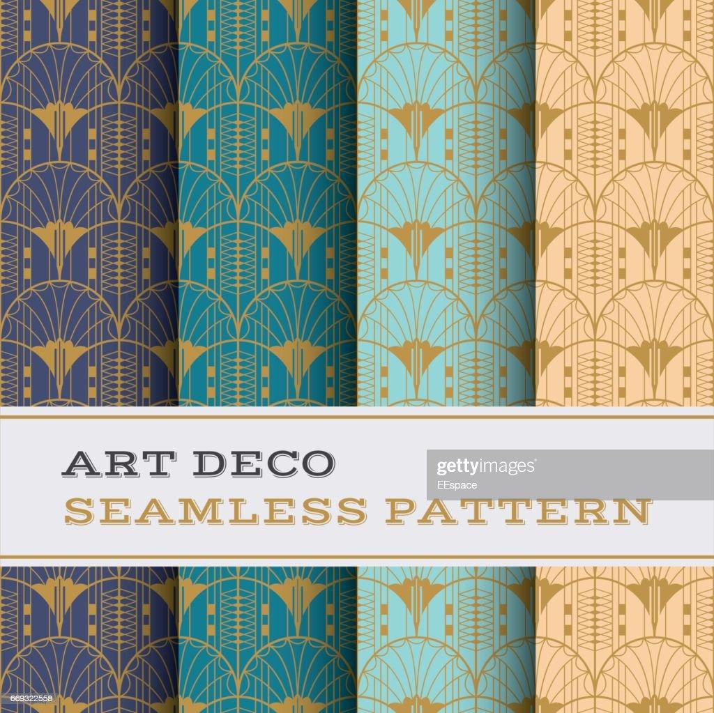 Art Deco seamless pattern 22