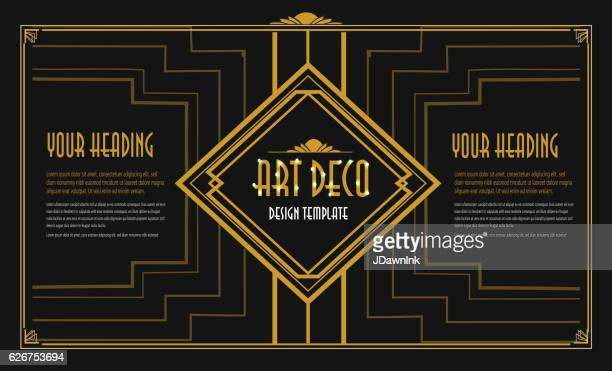 art decoのイラスト素材と絵 getty images