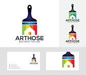 Art House vector logo