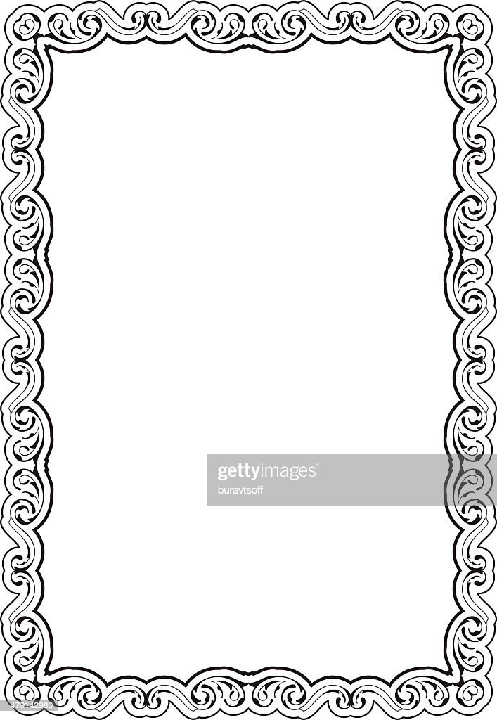 Art Nice Frame Vector Art | Getty Images