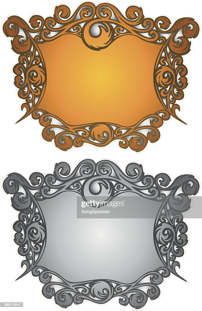 Art Nouveau Frames Vector Art | Getty Images