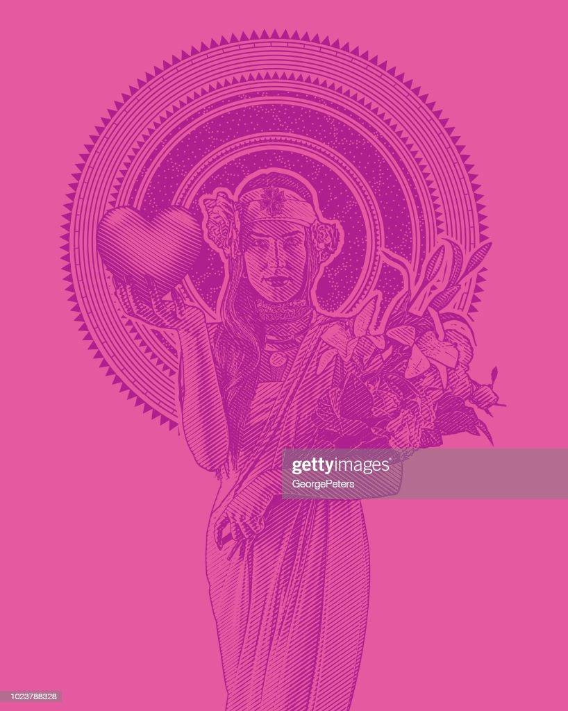 Visuelle glauben Gebet Blumen von Joanne Fink sofortiger | Etsy