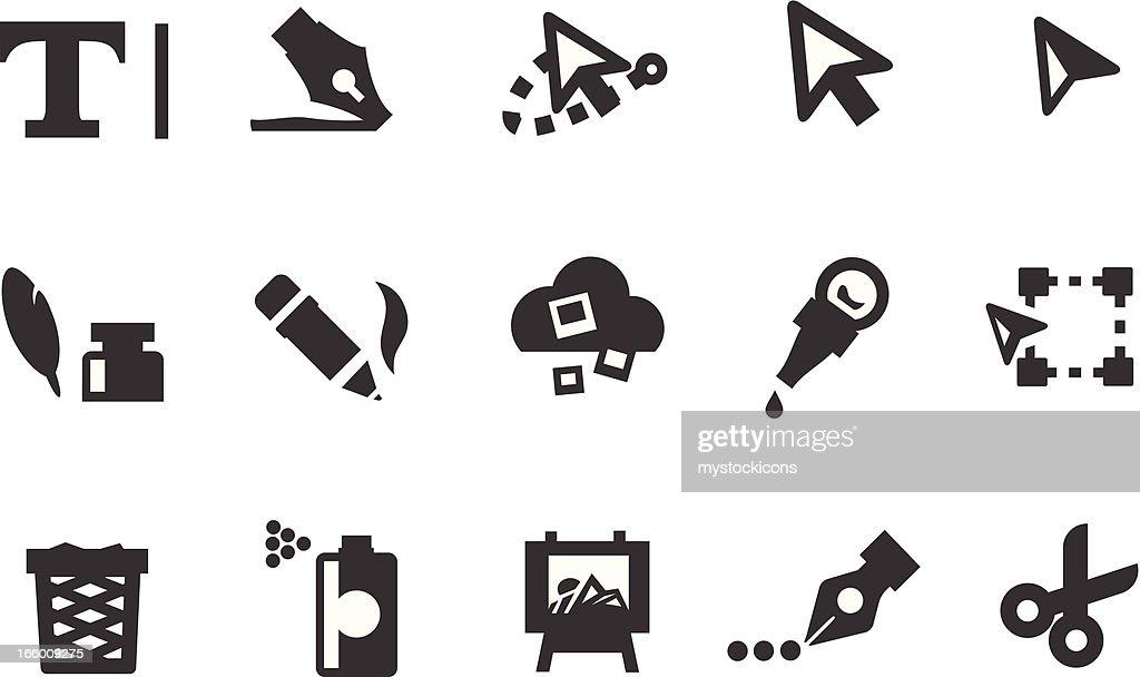 Art Tool Icons