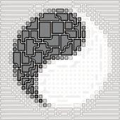 Art  Yin-Yang symbol