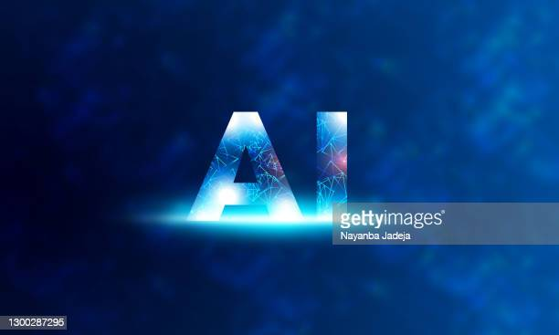 artificial intelligence concept design with face stock illustration - deep learning stock illustrations
