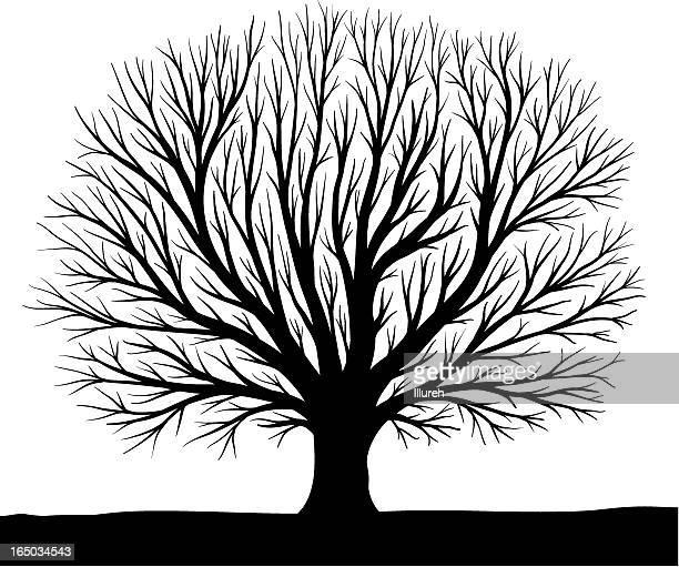 silhouette d'arbre artificiel
