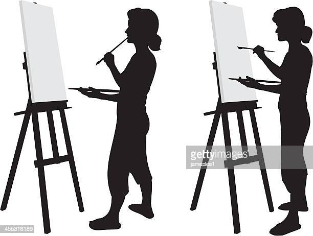 Artist Silhouette