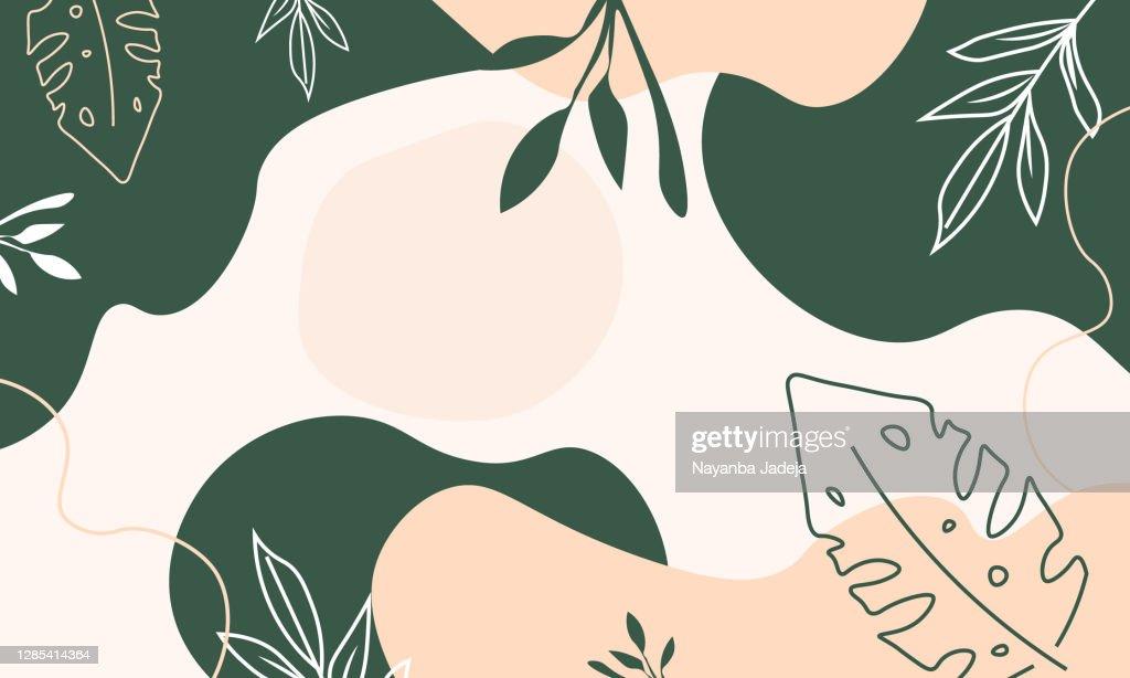 Artistic painted backgrounds illustration : Ilustração de stock