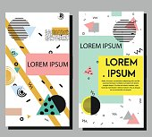 Artistic vector flyers design templates