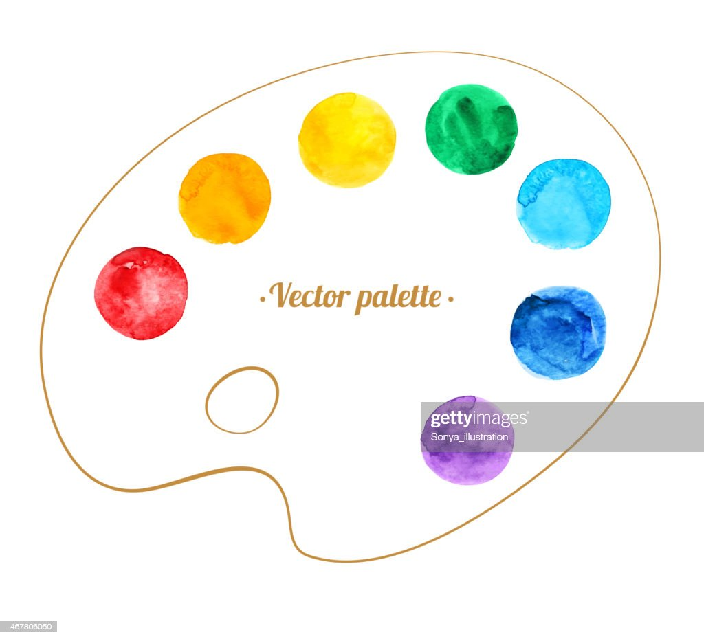 Artist's palette.