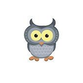 Ð¡artoon character of owl