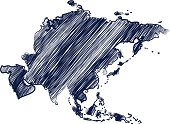 Asia continent