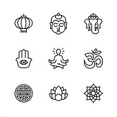 Asia - Pixel Perfect icons