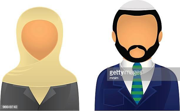 Asian Business & Office Avatars