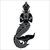 Asian mermaid